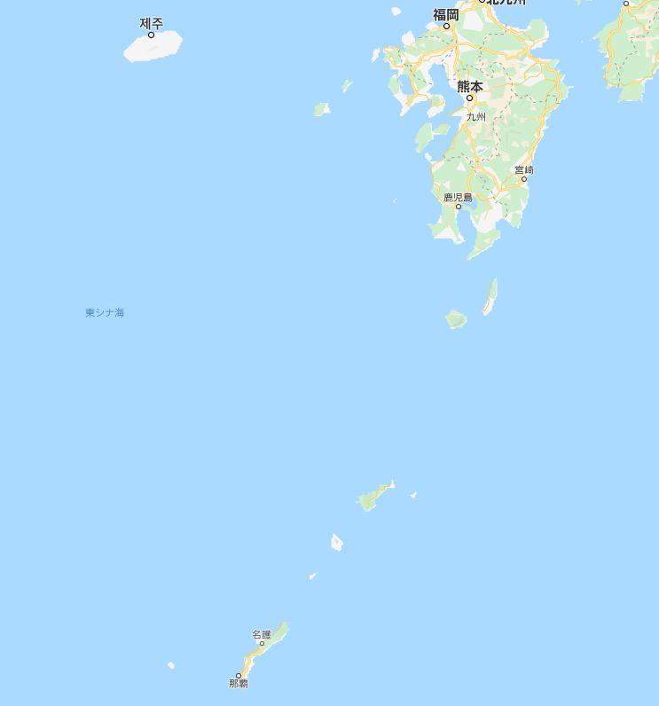 沖縄の場所